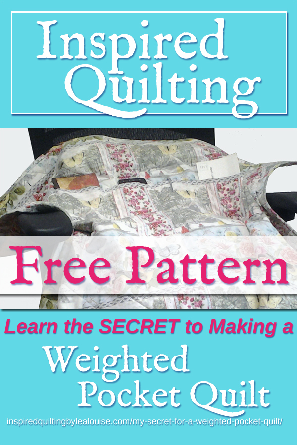 Photo of Weighted Pocket Quilt
