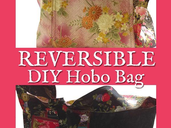 DIY Reversible Hobo Bag