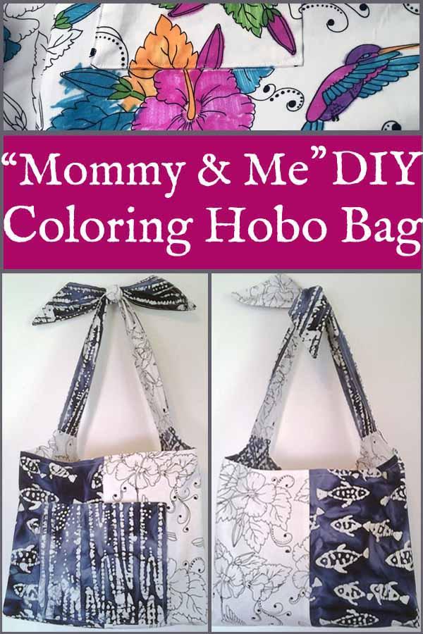 image of Mommy & Me Hobo Bag