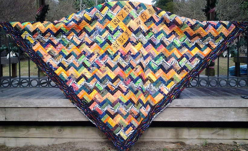 Photo of Wild Rails Quilt