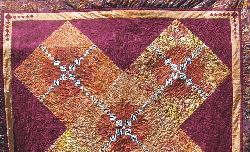 Photo of Safari Batik Quilt- Learn how to design a spectacular batik quilt