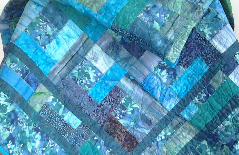 Photo of Stash Quilting Around Squares with Fat Quarters