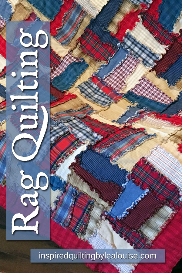 Learn how to make a rag quilt. photo