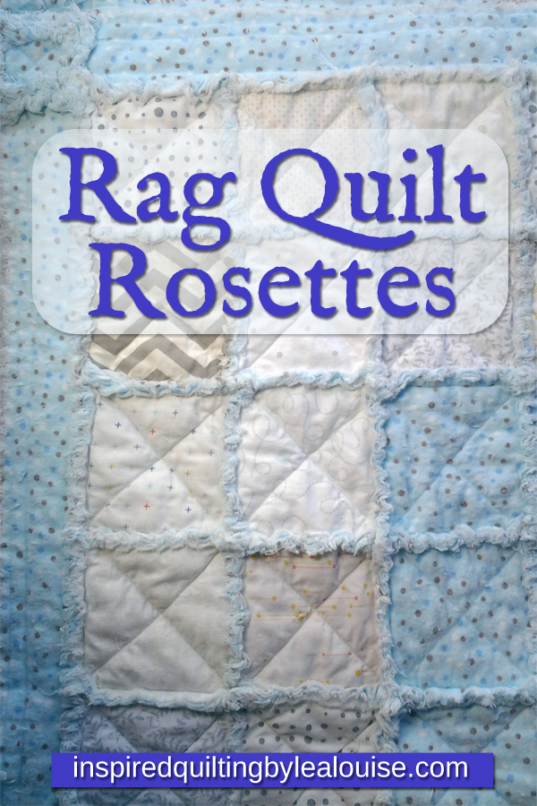 How to Make a Rag Quilt Border Rosette