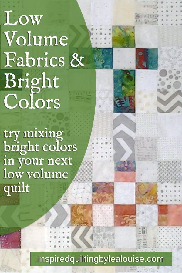 Photo Low Volume Quilts with Bright Colors_Low Volume Quilt Fabrics_Group 1 PIN