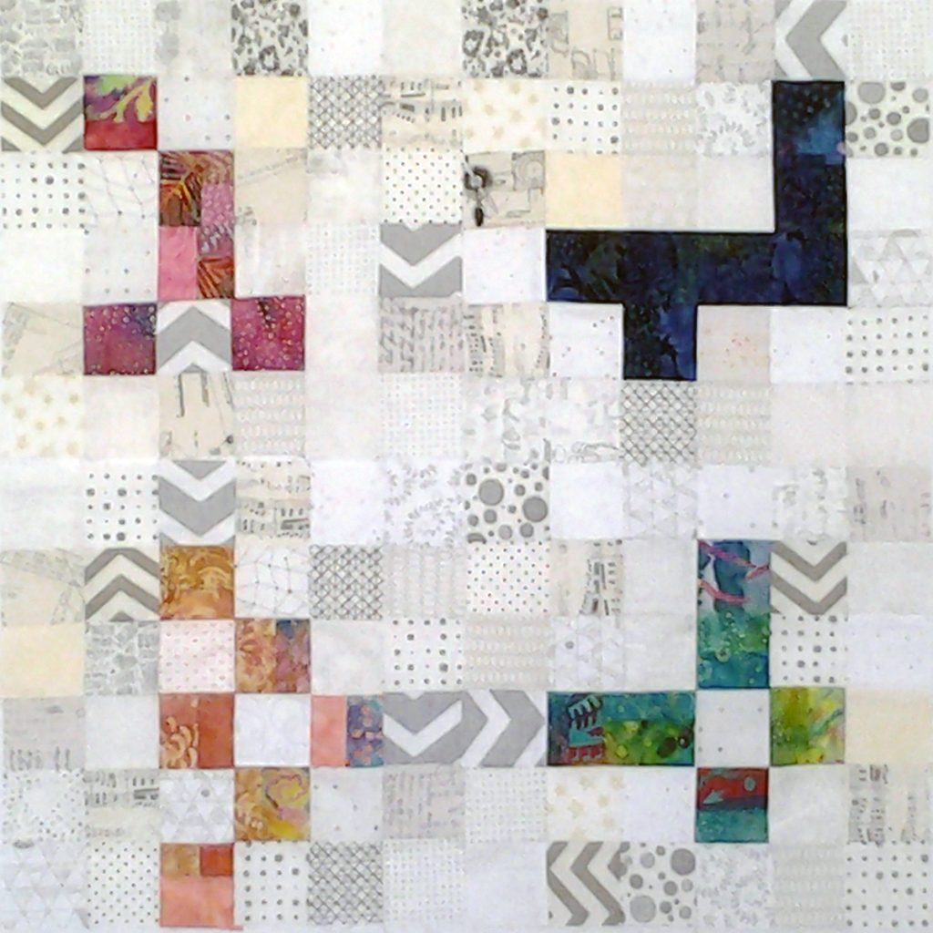 Photo Low Volume Quilts with Bright Colors_Low Volume Quilt Fabrics_Group 1