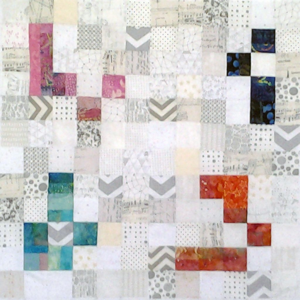 Photo Low Volume Quilts with Bright Colors_Low Volume Quilt Fabrics_Group 2