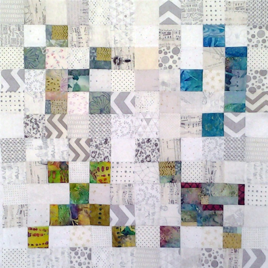 Photo Low Volume Quilts with Bright Colors_Low Volume Quilt Fabrics_Group 3