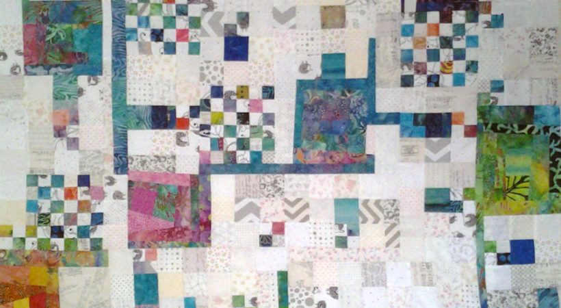 Improv Low Volume Quilting with Batiks