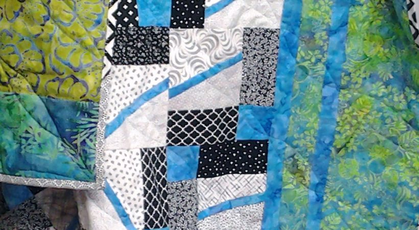 Easy Introduction to Improv Quilting with Precuts