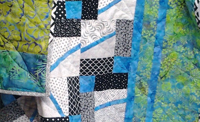 photo of quilt top front view