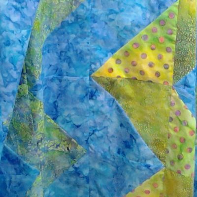 Modern Fat Quarter Quilting with Half Square Triangles