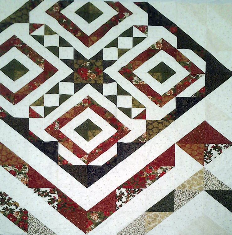 photo of finished quilt