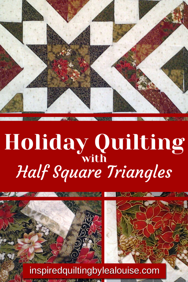 photo of holiday quilting pin