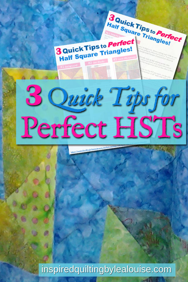 Pin Photo for 3 Tips for Perfect HSTs