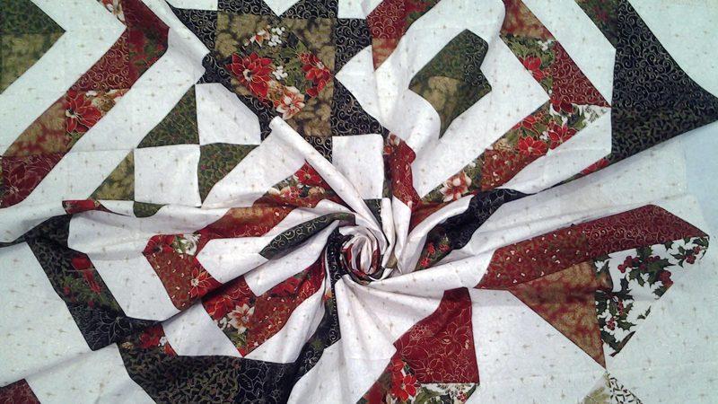 Modern Quilting with Layer Cake Half Square Triangles