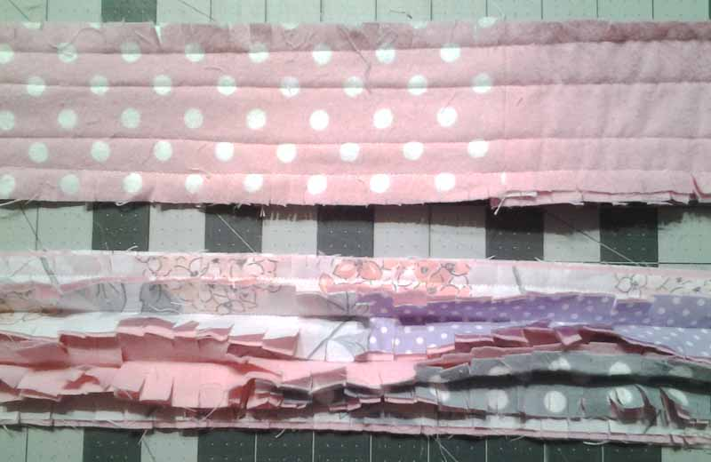 photo of Step 1_Rag Quilt Secrets_
