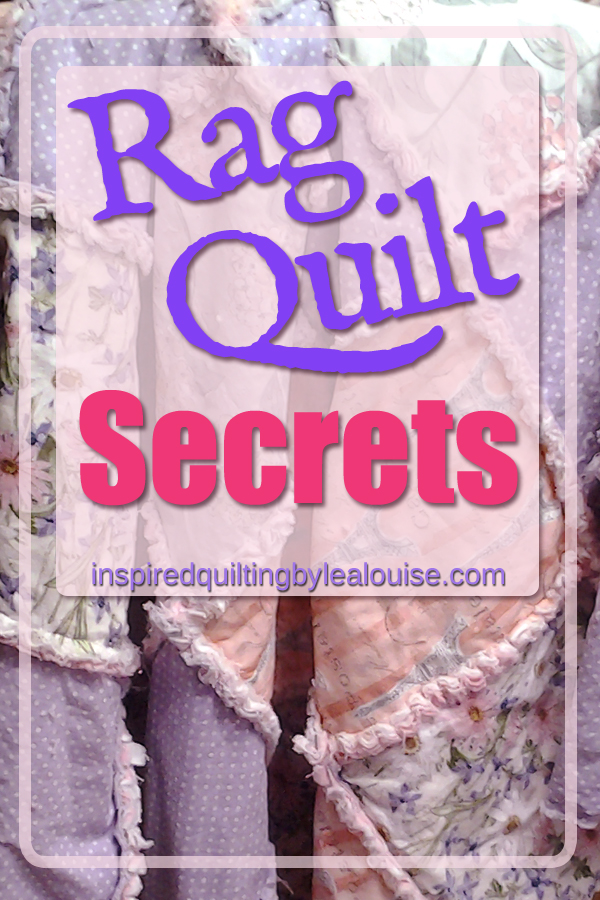 photo of pin for Adorable Rag Quilt Secrets