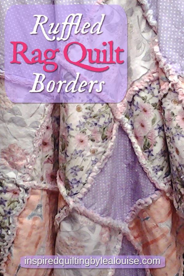 photo Pin How to Make a Rag Quilt with Ruffled Borders