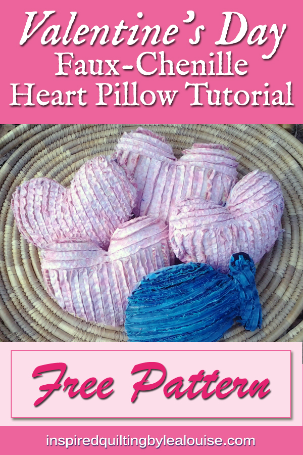 photo of Chenille Heart Pillows