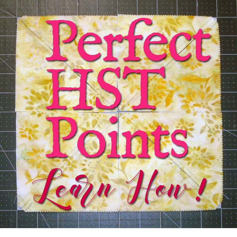 photo of Pinterest Pin Learn How to Make Perfect HST Points