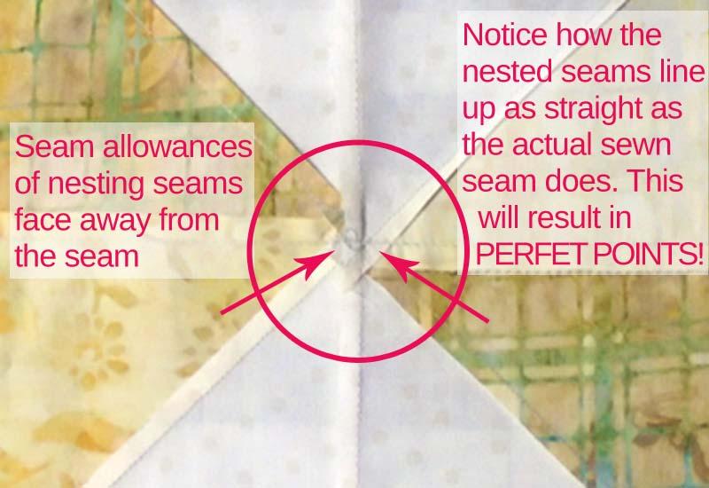 Photo of Seam Allowance Nesting