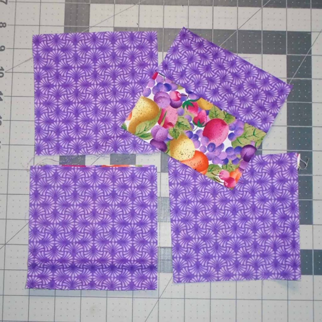 photo of Easy Patch Quilt 5 in Blocks Pieced together
