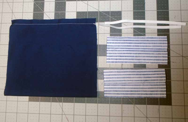 photo of DIY Face Mask sewing half inch seam