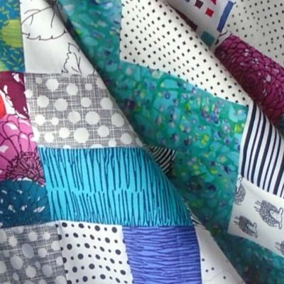 How to Make an Easy Rail Fence Quilt