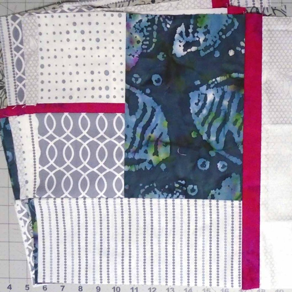 photo of Six Fat Quarters for the 3rd Fabric Selection