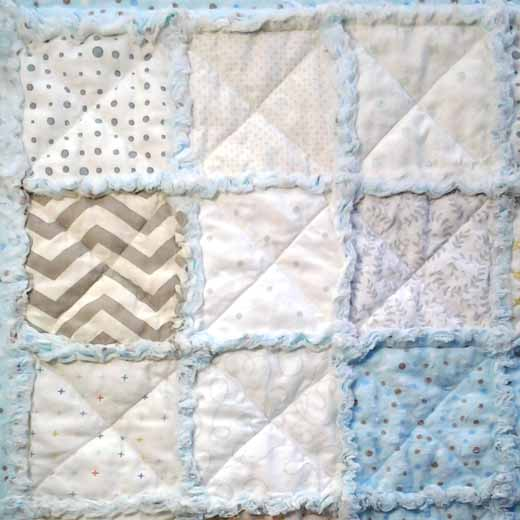 photo of How to Quilt Rag Quilt Blocks