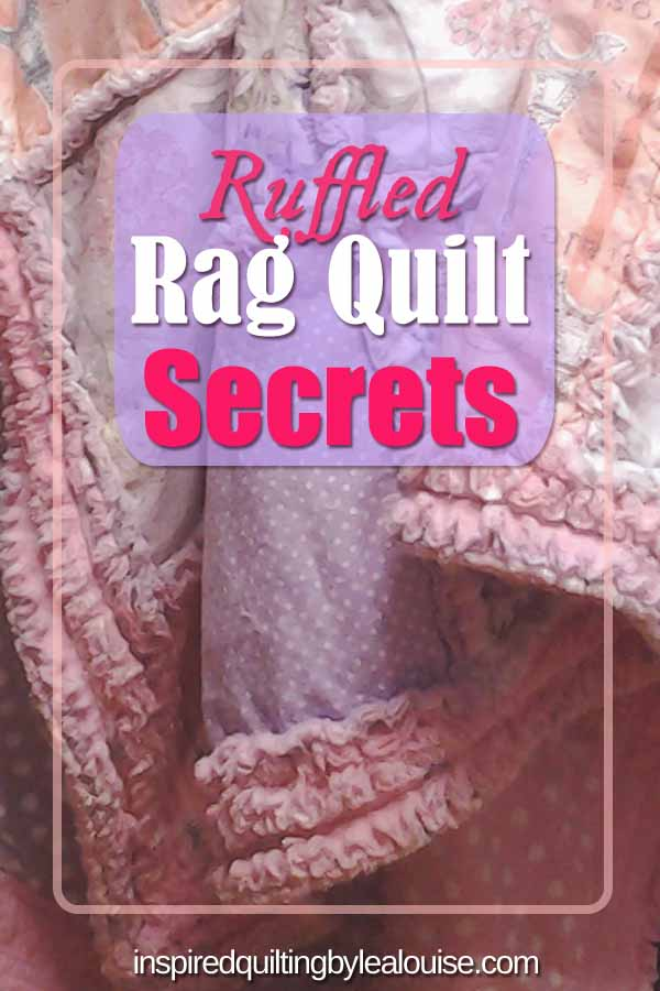photo of pin for How to Make Easy Ruffled Rag Quilt Borders
