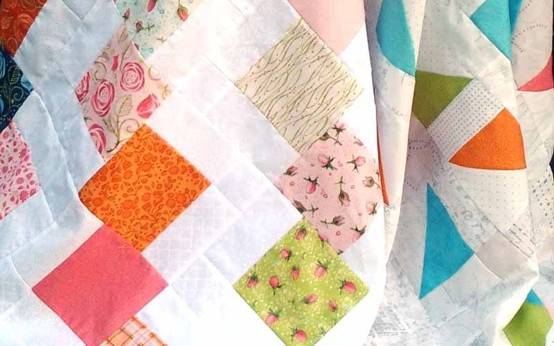 photo of charmingly paired Charm Pack Quilt Pattern
