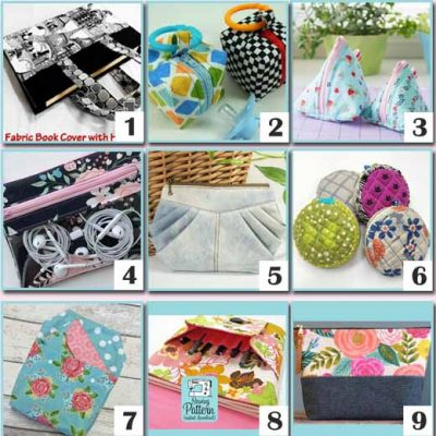 Perfect Mother's Day DIY Gift Bags & Pouches