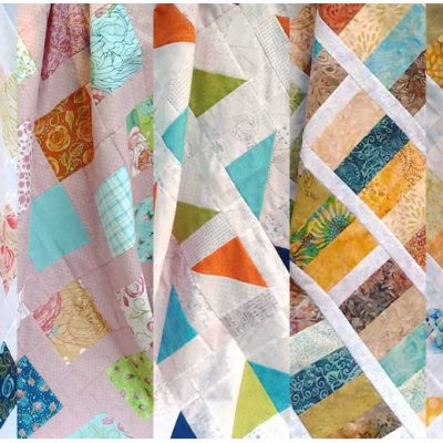 Charmed Quilt Pattern Series – Charm Square Quilts