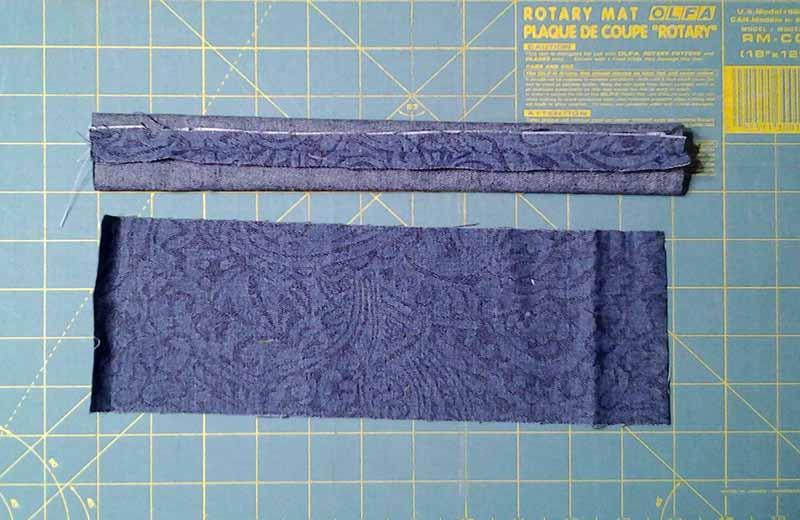 photo of Easy Start Quick Finish Summer Picnic BJ Pocket Mini Rag Quilt Flatware Rolls Napkin Band