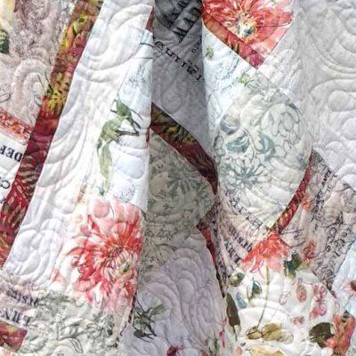 Modern Fat Quarter Quilting with Low Volume & Batik Fabrics