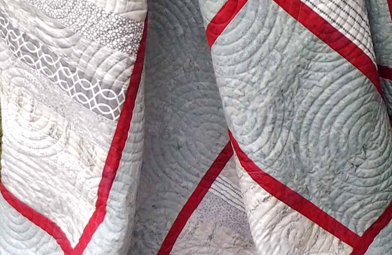 photo of Modern Fat Quarter Quilt Backing