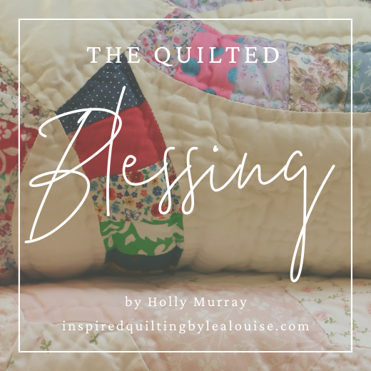 photo of the quilted blessing wedding gift