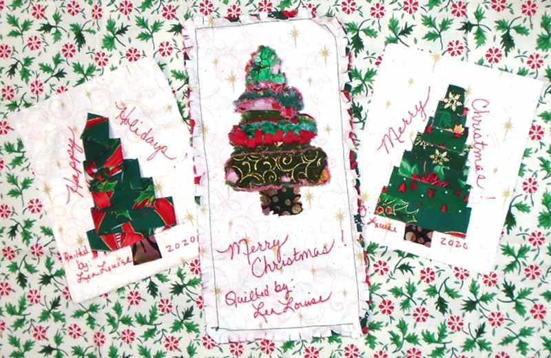 photo of Trio of DIY Christmas Quilt Labels