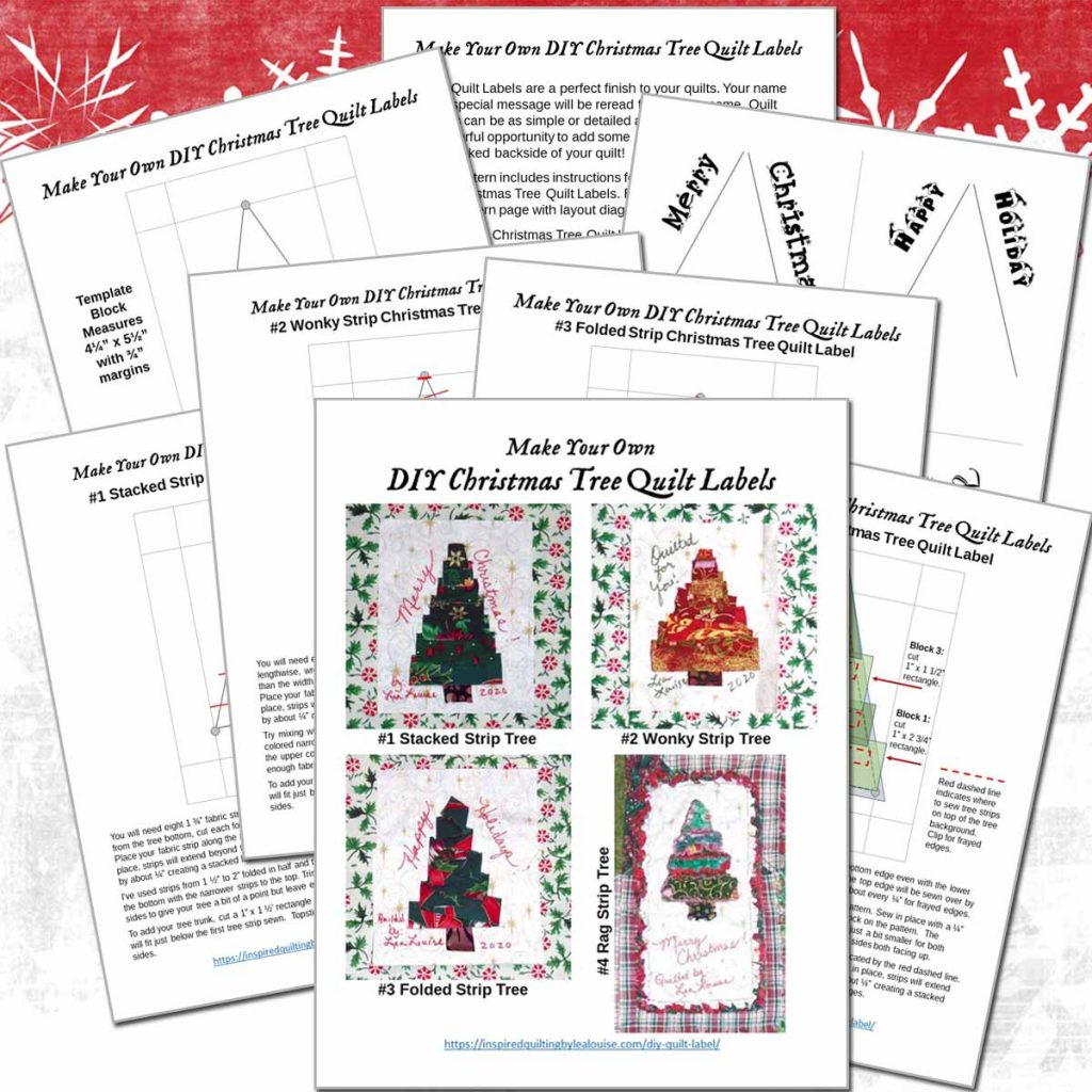 photo of Christmas Tree Labels