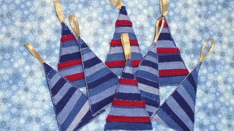 Quick Quilted Christmas Ornaments
