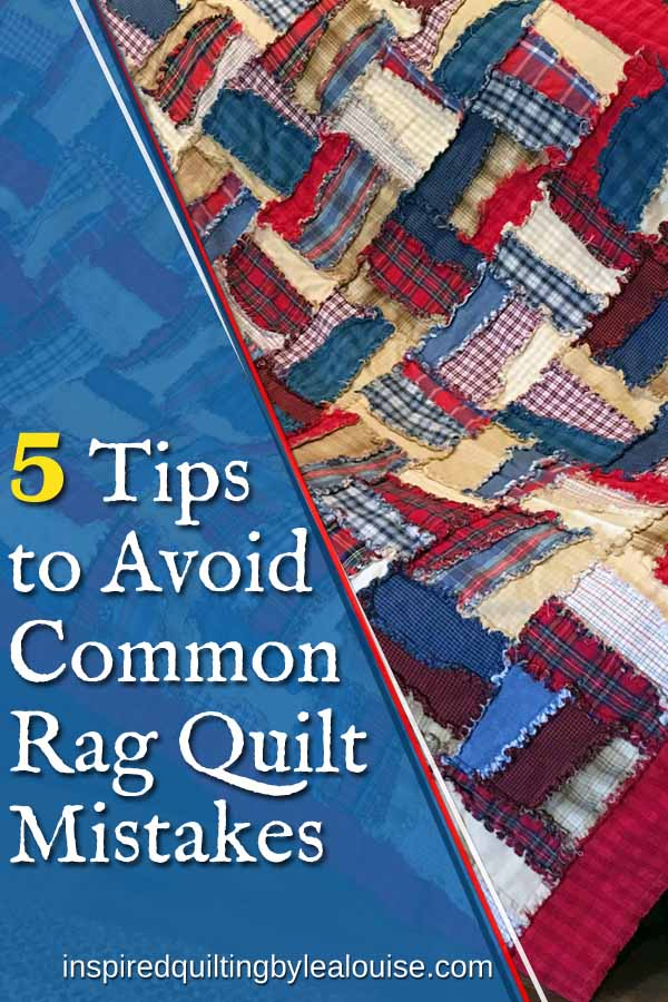 Image of pin Tips to Avoid Common Rag Quilt Mistakes