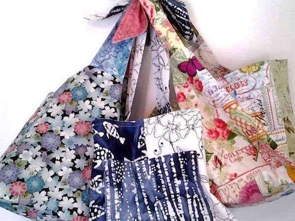 How to Make A DIY Reversible Hobo Bag