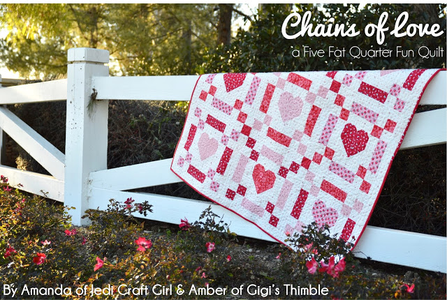 image of CHAINS OF LOVE Quilt
