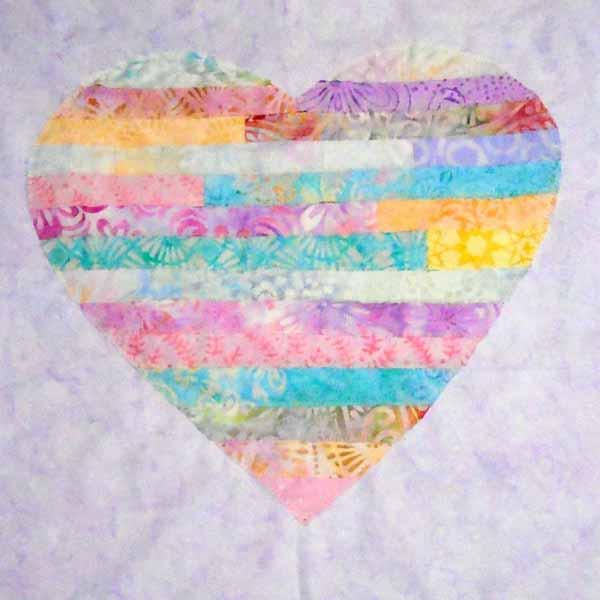 image of Batik String Heart