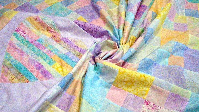 New Batik Heart-Strings Quilt Reveal