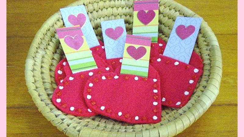 A Sweet Little Valentine Pocket Tutorial