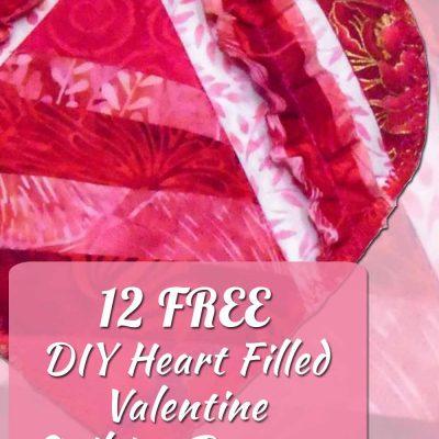 DIY Heart Filled Valentine Quilting Patterns