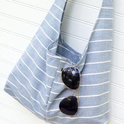 image of Tea-Towel-Summer-Sling-Bag